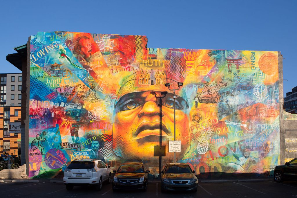 mural arts colorful legacy by willis nomo humphrey and keir johnston