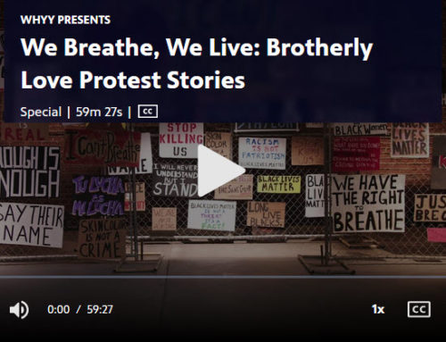 We Breathe, We Live. Brothery Love Protest Stories